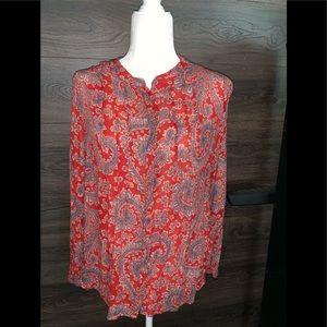 Lucky Brand long sleeve shirt size M